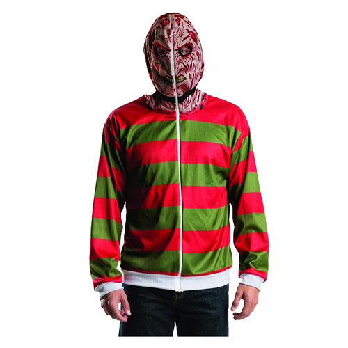 Nightmare on Elm Street Freddy Krueger Zip-Up Hooded Costume