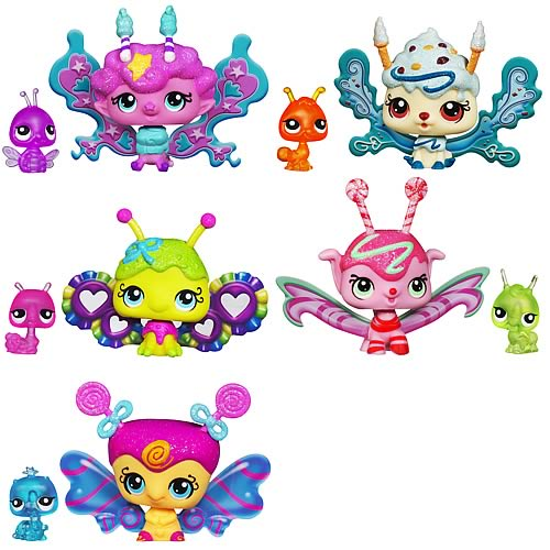 Littlest Pet Shop Enchanted Pets Wave 3 Set