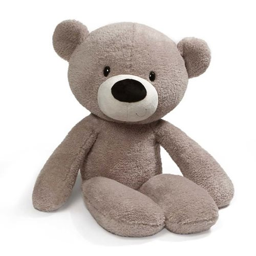Fuzzy Teddy Bear Jumbo 34-Inch Plush