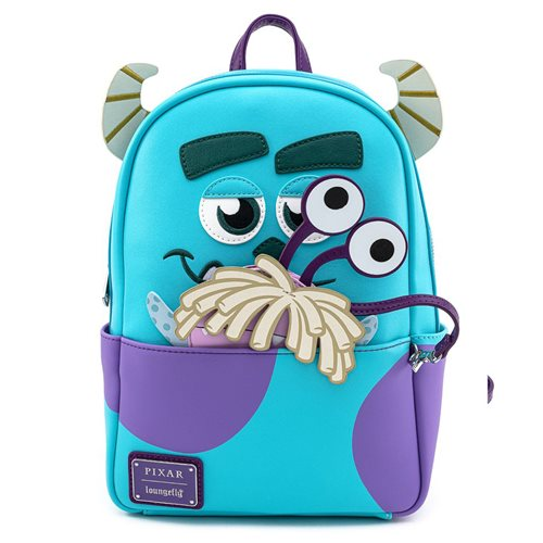 Disney-Pixar Monsters, Inc. Sully Mini-Backpack with Boo Coin Pouch