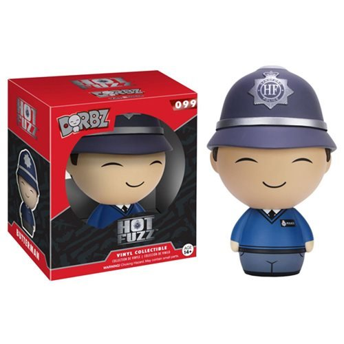 Hot Fuzz Danny Butterman Dorbz Vinyl Figure