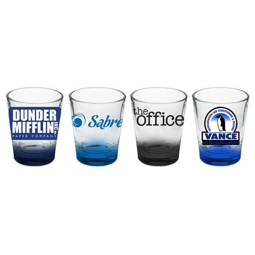 The Office Company Logos Shot Glass 4-Pack