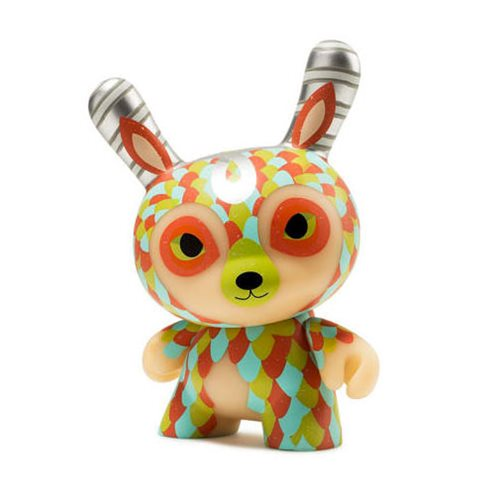 The Curly Horned Dunnylope by Jordan Elise 5-Inch Dunny Vinyl Figure