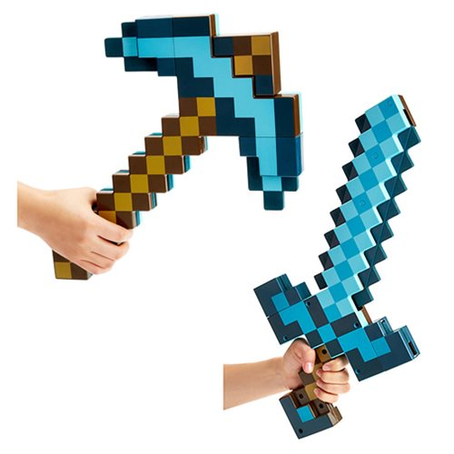Minecraft Transforming Diamond Sword/Pickaxe