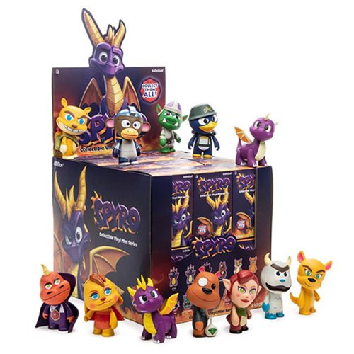 Spyro Mini-Figure Display Tray