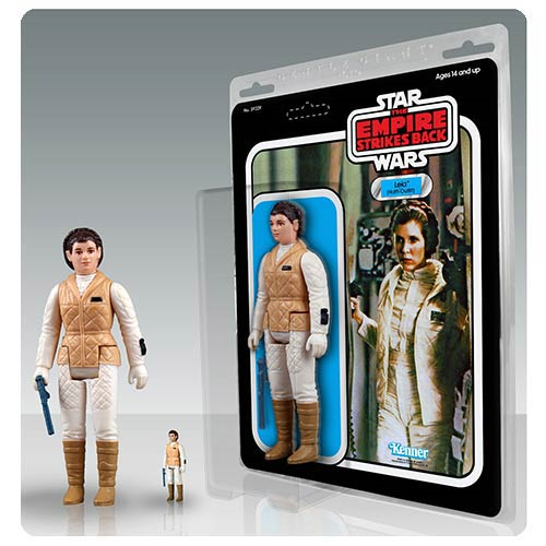 Star Wars The Empire Strikes Back Princess Leia Hoth Jumbo Vintage Kenner Action Figure