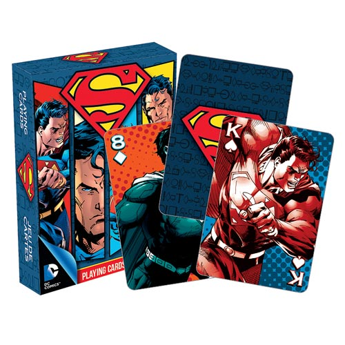 Superman Playing Cards