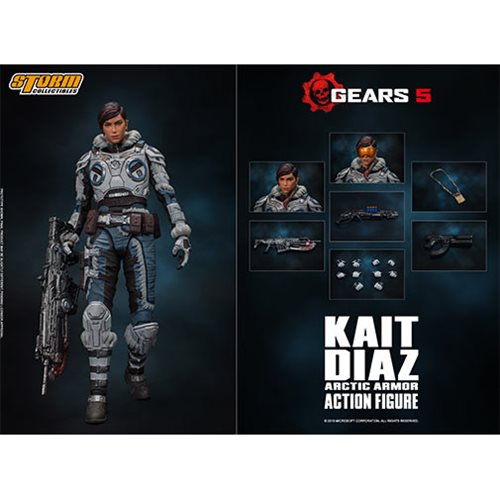 Gears of War Kait Diaz 1:12 Scale Action Figure