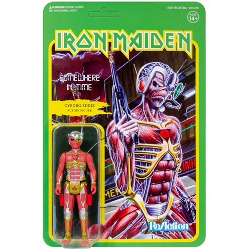 Iron Maiden Somewhere in Time Eddie 3 3/4-Inch ReAction Figure