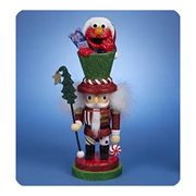 Sesame Street Elmo 12-Inch Hollywood Nutcracker