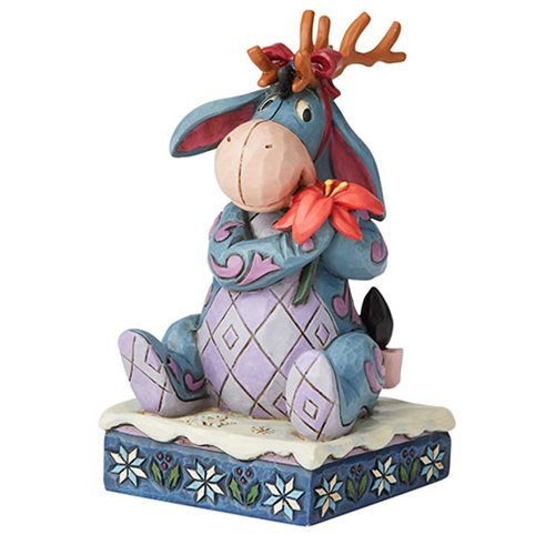 Disney Traditions Winnie the Pooh Eeyore Christmas Personality Winter Wonders by Jim Shore Statue