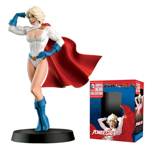 DC Superhero Powergirl Best of Figure with Magazine