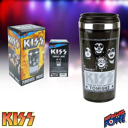 KISS 16 oz. Travel Mug