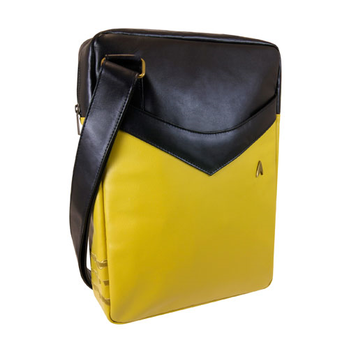 Star Trek: The Original Series Gold Uniform Messenger Bag