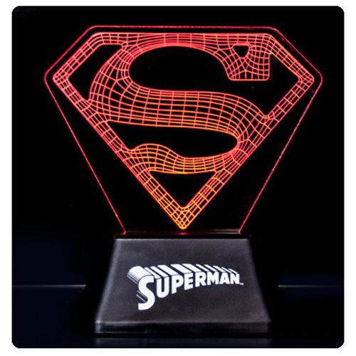 DC Comics Superman Edge Acrylic Light Lamp