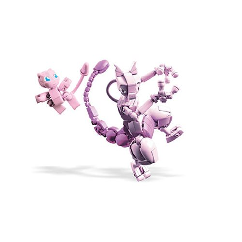 Mega Construx Pokemon Mew vs Mewtwo Clash Playset
