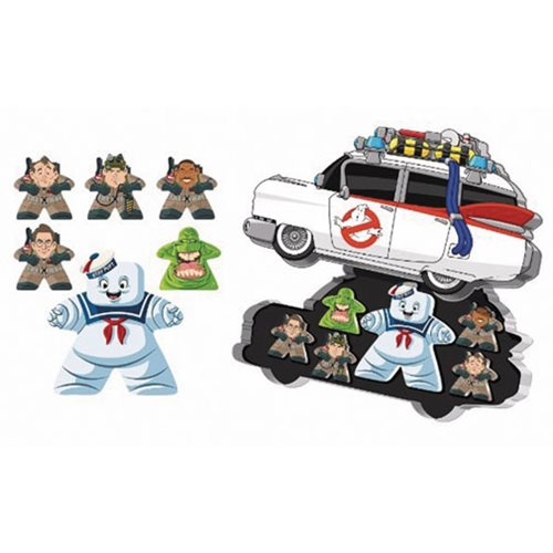 Mighty Meeples Ghostbusters Ecto-1 Collection Tin