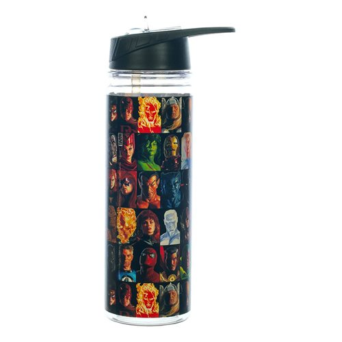 Marvel Retro Character Squares 16 oz. UV Double-Wall Water Bottle