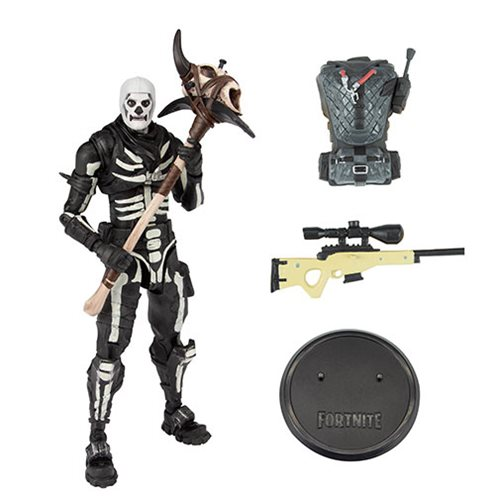 Fortnite Series 1 Skull Trooper 7-Inch Deluxe Action Figure