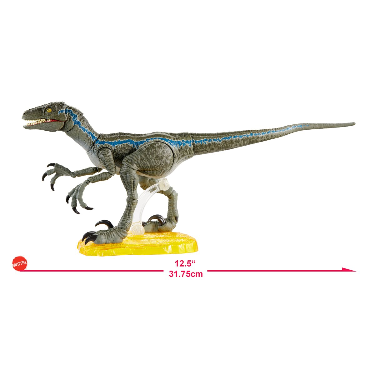 "Jurassic World Velociraptor Blue 6/"" Amber Collection Action Figure New In Stock!"