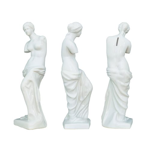 Venus de Milo White Money Bank