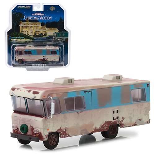 Christmas Vacation (1989) - 1972 Condor II 1:64 Scale Die-Cast Metal Vehicle