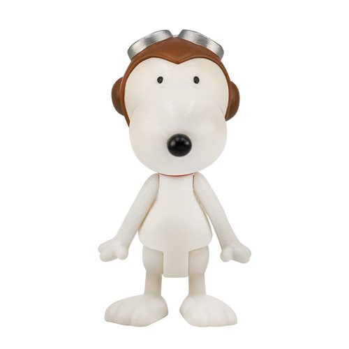 Peanuts Snoopy Flying Ace 3 3/4-Inch ReAction Figure