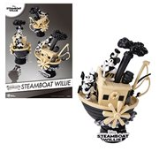 Mickey Mouse Steamboat Willie DS-017 Dream-Select Series 6-Inch Statue - Previews Exclusive