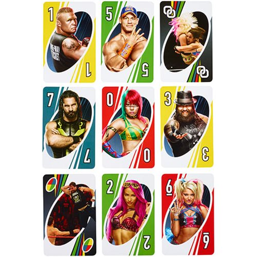 WWE Uno Game