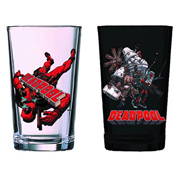 Deadpool 16 oz. Pint Glass 2-Pack - Previews Exclusive