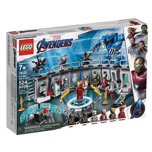 LEGO 76125 Marvel Super Heroes Iron Man Hall of Armor