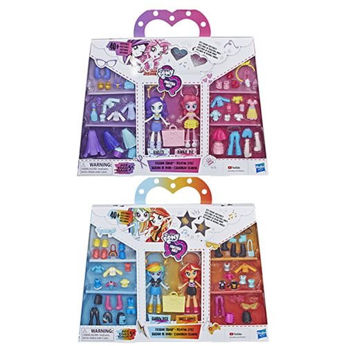 My Little Pony Equestria Girls Fashion Squad Dolls Wave 1