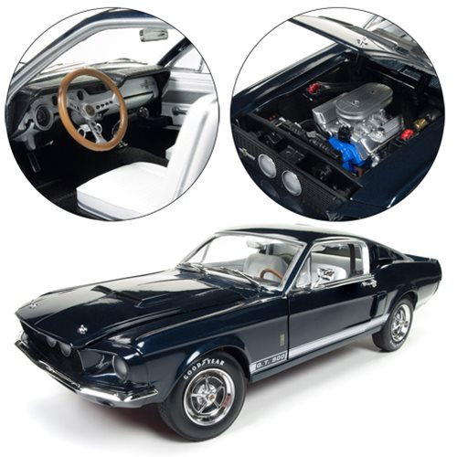 1967 Shelby GT 500 Model Kit 1:18 Scale Die-Cast Vehicle