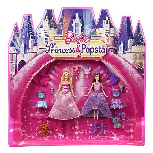 Barbie Princess and the Popstar Small Doll Movie Bag