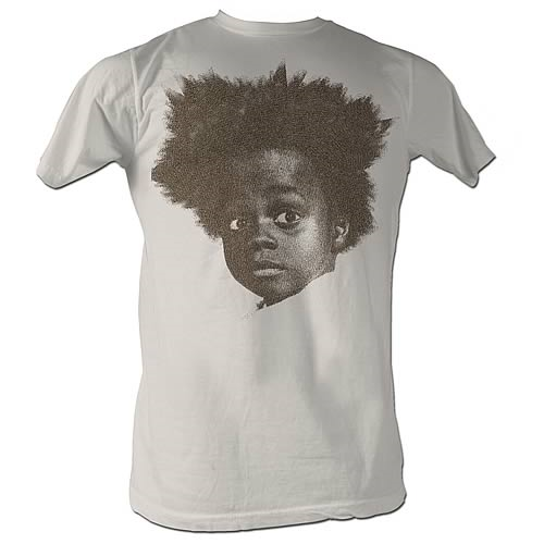 Little Rascals Buckwheat Big Head White T-Shirt