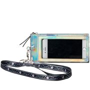 Unicorn Holographic Phone Sleeve with Lanyard