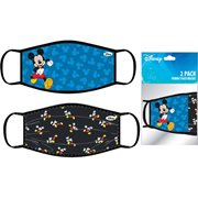 Mickey Mouse Child's 2-Pack Face Masks
