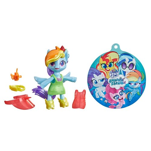 My Little Pony Smashin Fashion Rainbow Dash Mini-Figure