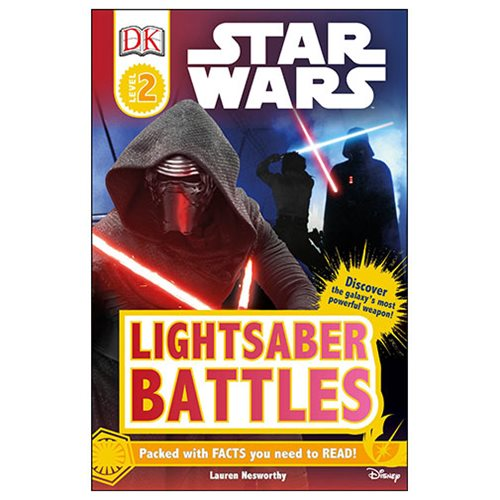 Star Wars Lightsaber Battles DK Readers 2 Paperback Book