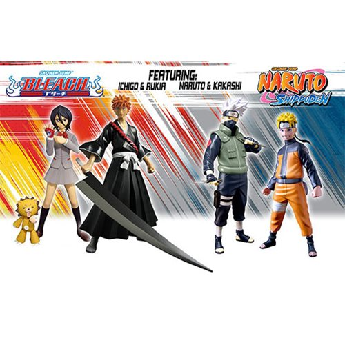 Naruto Shippuden and Bleach 6-Inch Figure Series 1 Set