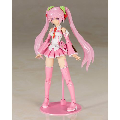 Frame Music Girl Sakura Miku Model Kit