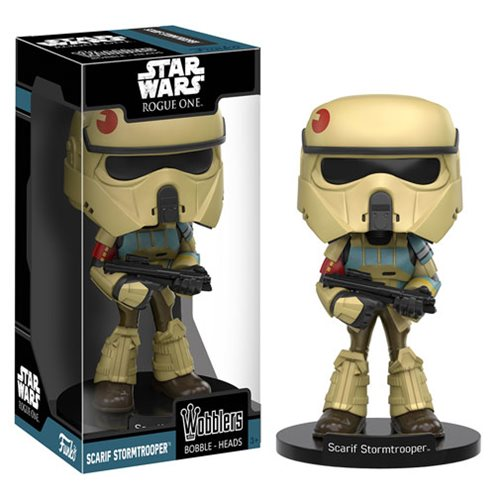 Star Wars Rogue One Scarif Stormtrooper Bobble Head