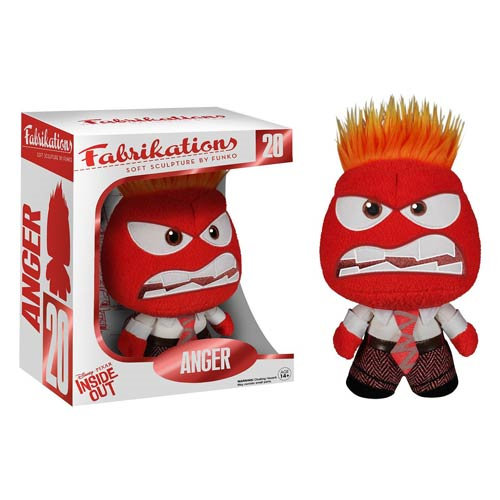Inside Out Anger Disney-Pixar Fabrikations Plush Figure