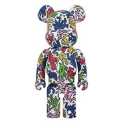 Keith Haring Design 1,000% Bearbrick Figure