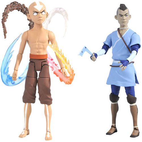 Avatar: The Last Airbender Series 4 Deluxe Action Figure Set