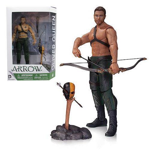 Arrow TV Series Arrow Oliver Queen with Totem Action Figure