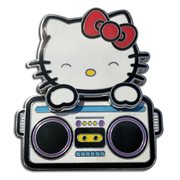 Hello Kitty Bopping Radio Enamel Pin