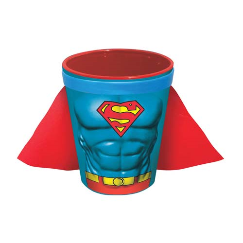 Superman Molded Caped Shot Glass