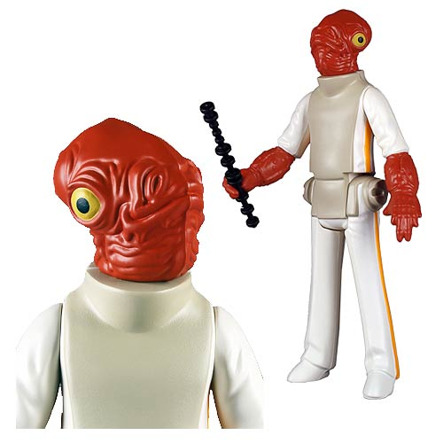 Star Wars Admiral Ackbar Jumbo Kenner Action Figure