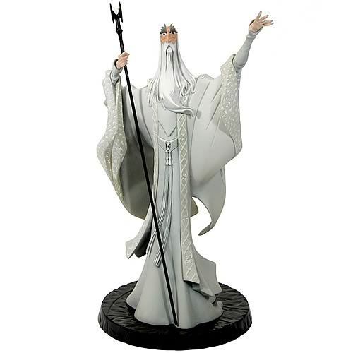 Lord of the Rings Animated Saruman Maquette